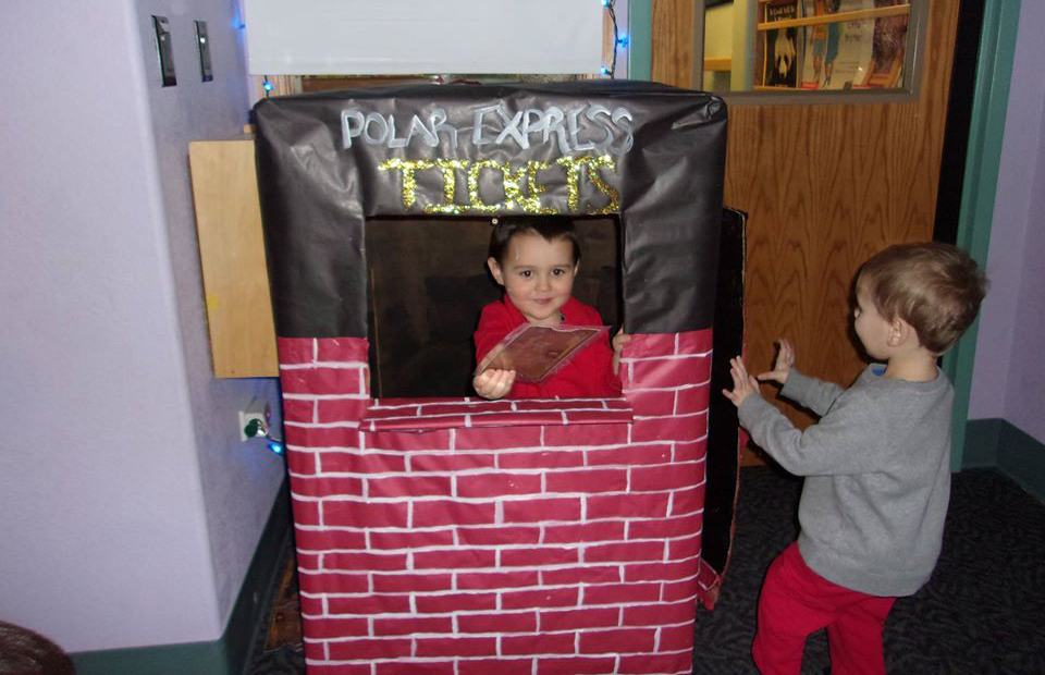 two boys playing in classroom at a Preschool & Daycare Serving Thornton, CO