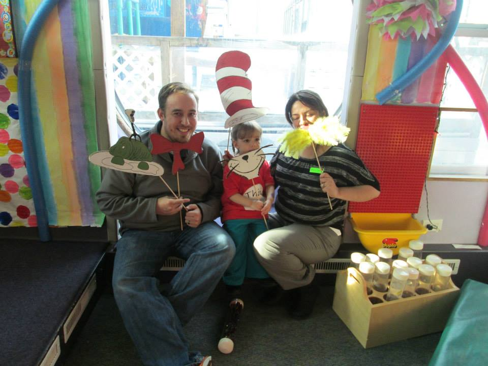 smiling parents and children at a Preschool & Daycare Serving Thornton, CO