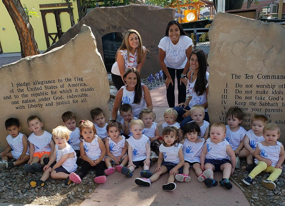 smiling teachers and children at a Preschool & Daycare Serving Thornton, CO